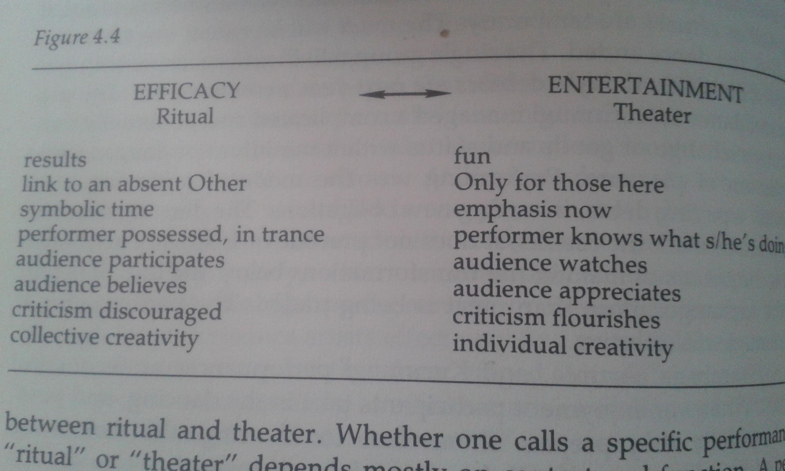 schechner performance theory